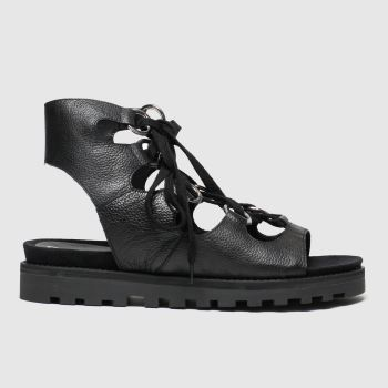 schuh Black Chance Womens Sandals