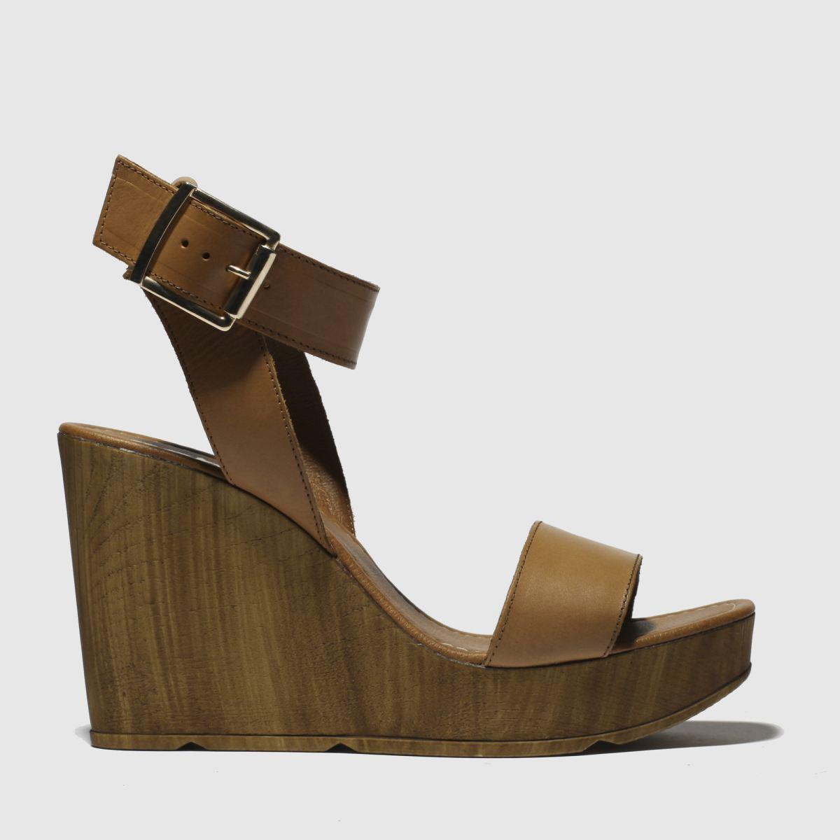 Schuh Tan Oslo Sandals