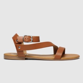 Schuh Tan Holidaze Womens Sandals
