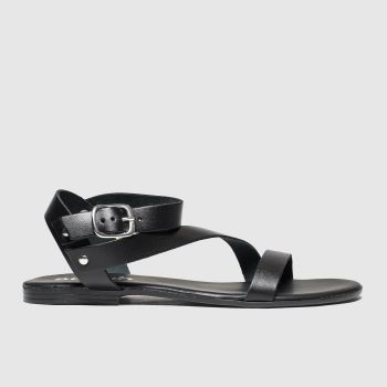 Schuh Black Holidaze Womens Sandals