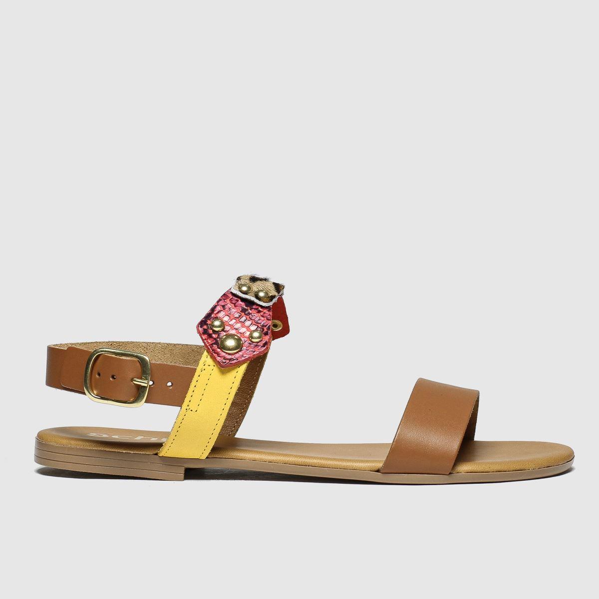 schuh Schuh Tan Scorcher Sandals