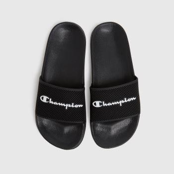 Champion Black & White Daytona Womens Sandals