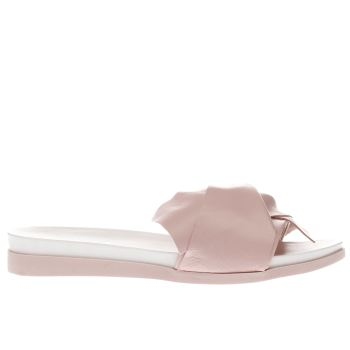 SCHUH PALE PINK LONG WEEKEND SANDALS