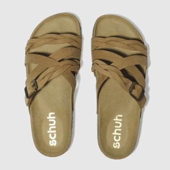 SCHUH TAN HOROSCOPE SANDALS