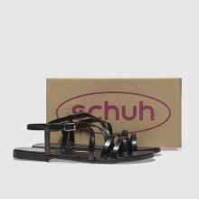 89782840f womens black schuh crucial sandals