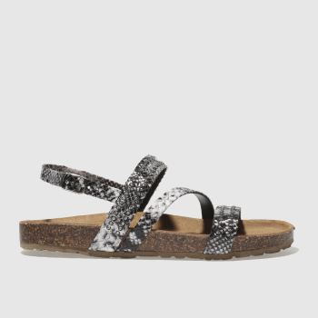 Schuh Black Cyclone Womens Sandals