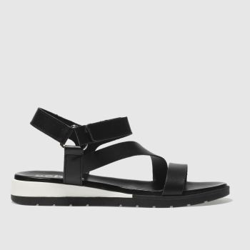 Schuh Black Malmo Womens Sandals