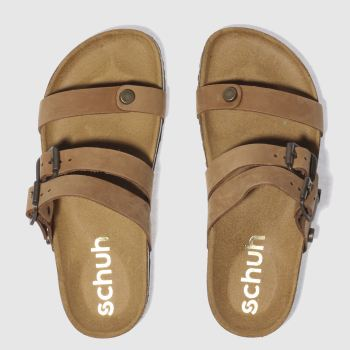 Schuh Tan Berlin Womens Sandals
