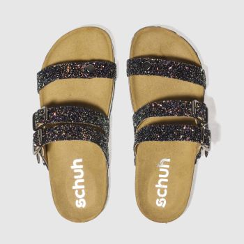Schuh Black Berlin Womens Sandals