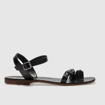 Schuh Black Cannes Womens Sandals