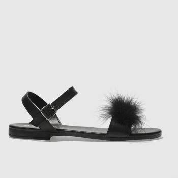 Schuh Black Antigua Womens Sandals