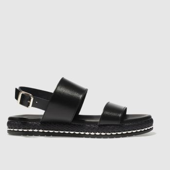 Schuh Black Melbourne Womens Sandals