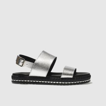 Schuh Silver Melbourne Womens Sandals
