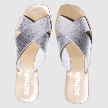 Schuh Silver Seville Womens Sandals
