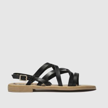 Schuh Black Amalfi Womens Sandals
