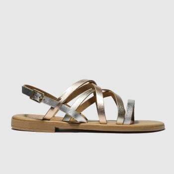 Schuh Gold & Silver Amalfi c2namevalue::Womens Sandals