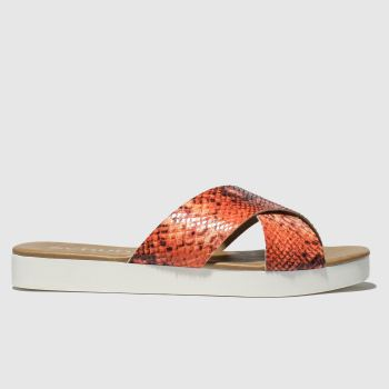 Schuh Orange Mykonos Womens Sandals