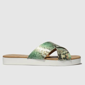schuh Green Mykonos Womens Sandals
