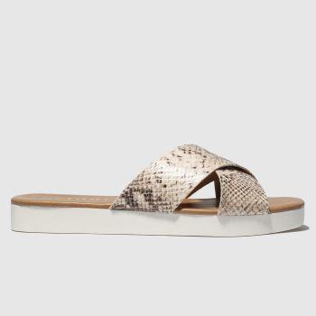 Schuh Beige Mykonos c2namevalue::Womens Sandals