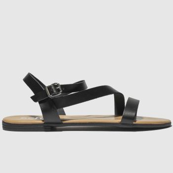 Schuh Black Sicily Womens Sandals
