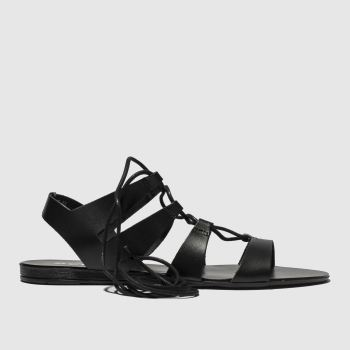 Schuh Black Belize Womens Sandals