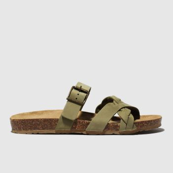 Schuh Khaki Astrology Womens Sandals