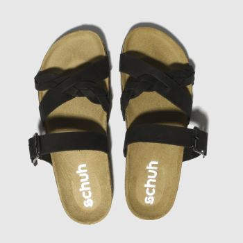 Schuh Black Astrology Womens Sandals
