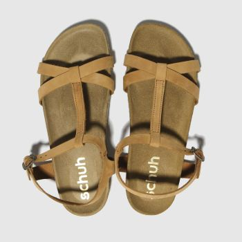 Schuh Tan Cancun Womens Sandals