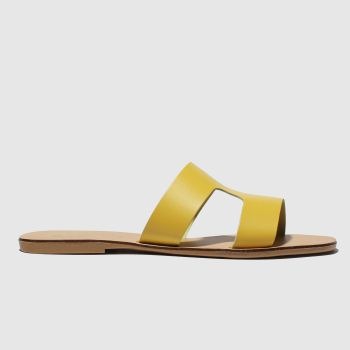 Schuh Yellow Mallorca Womens Sandals