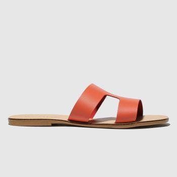 schuh Peach Mallorca Womens Sandals