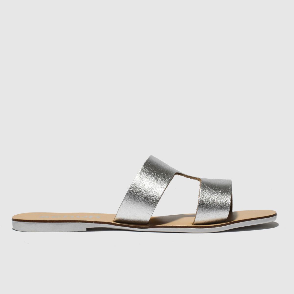 518d309a7a7b5 Schuh Silver Mallorca Sandals