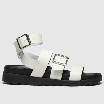 Schuh White Sunshine Womens Sandals