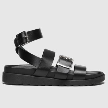 Schuh Black Sunshine Womens Sandals