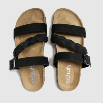 schuh Black Mystic Womens Sandals