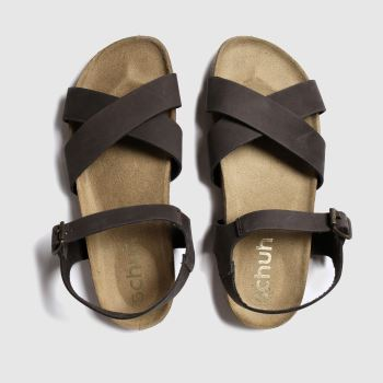 schuh Brown Tulum Womens Sandals