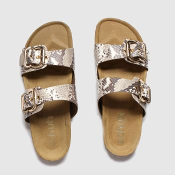 schuh Natural Santorini Womens Sandals