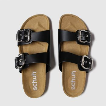 Schuh Black Santorini c2namevalue::Womens Sandals