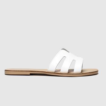 Schuh White Palma Womens Sandals