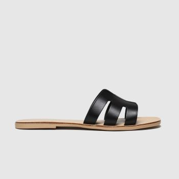 schuh Black Palma Womens Sandals
