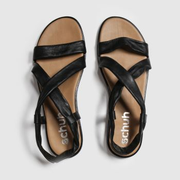 Schuh Black Cha Cha c2namevalue::Womens Sandals