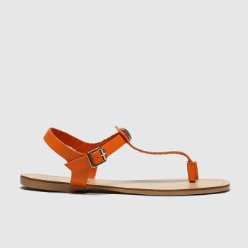 schuh Orange Crete Sandals