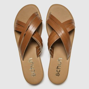 Schuh Tan Sorrento Womens Sandals