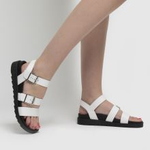 schuh Chaser Leather Chunky Buckle,2 of 4