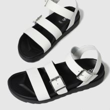 schuh Chaser Leather Chunky Buckle,3 of 4