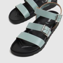 schuh Chaser Leather Chunky Buckle 1