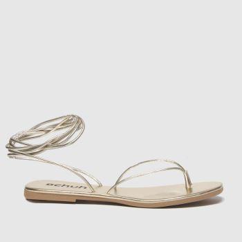 Schuh Gold Lisbon Womens Sandals