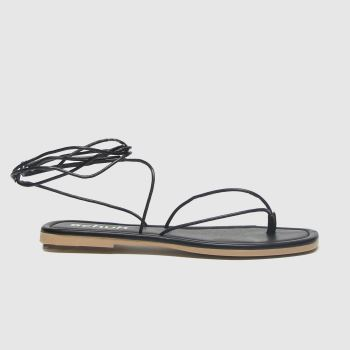 Schuh Black Lisbon Womens Sandals