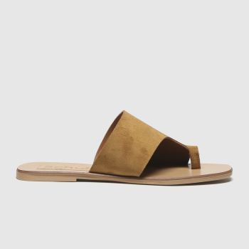 schuh Tan Copenhagen Leather Mule Womens Sandals