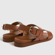 schuh Tori Leather Two Band Sandal 1