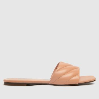 schuh Natural Tell Padded Mule Womens Sandals